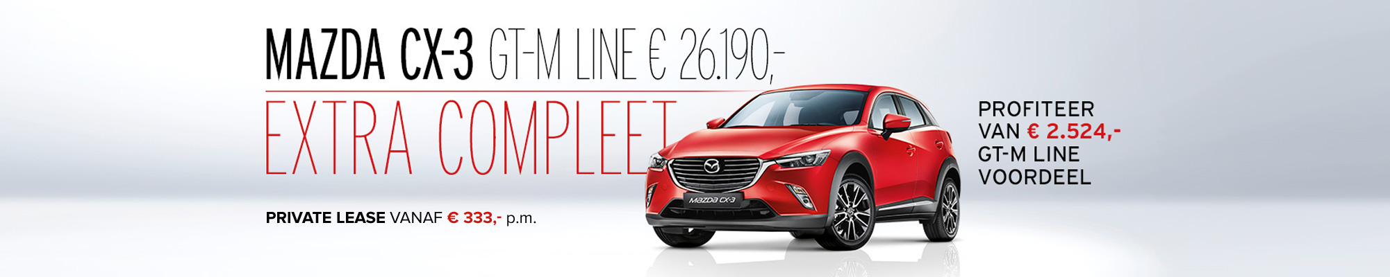 Mazda CX-3 GTM Line - Extra compleet